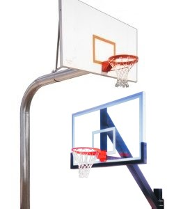 In-ground Fixed Height Basketball Systems